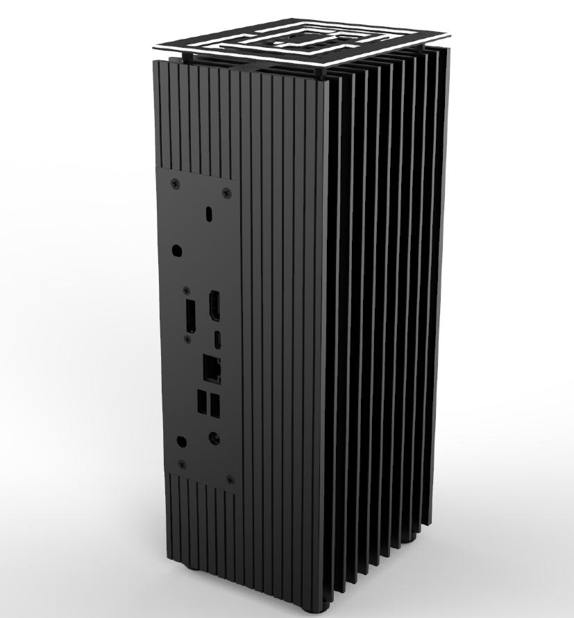 skříň AKASA Turing A50 (pasiv) V2