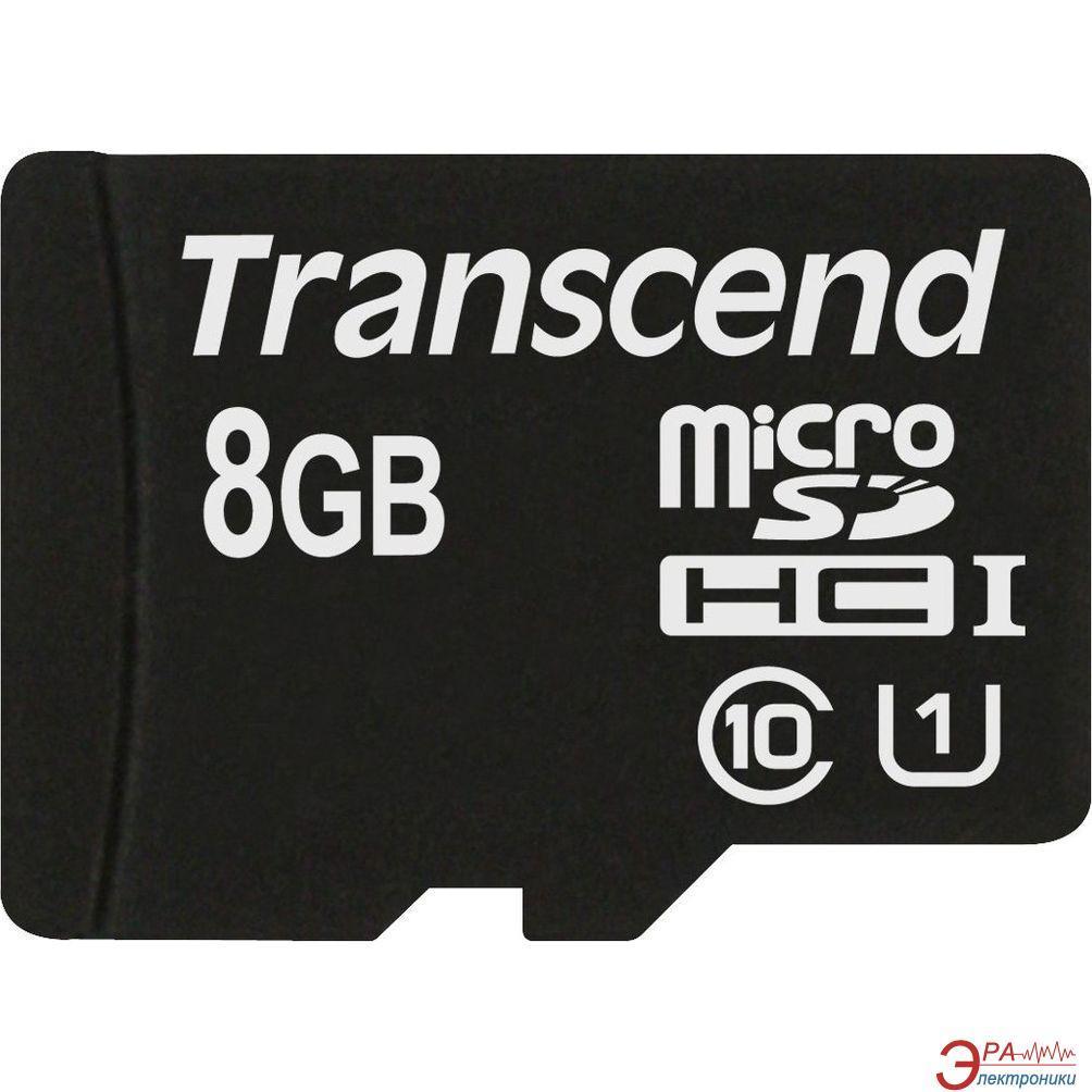 Transcend Micro SDHC karta 8GB Class 10 UHS-I 600x (čtení až 90MB/s)