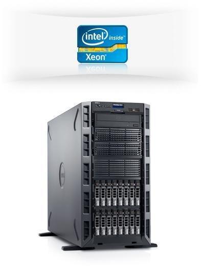 DELL PE T320 QC Xeon E5-2403v2/8GB/3x1TB/2xLAN/RAID 5/redzdroj/iDrac ent.