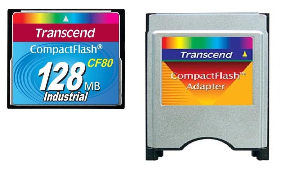 Transcend paměťová karta 128MB PCMCIA Type II ATA