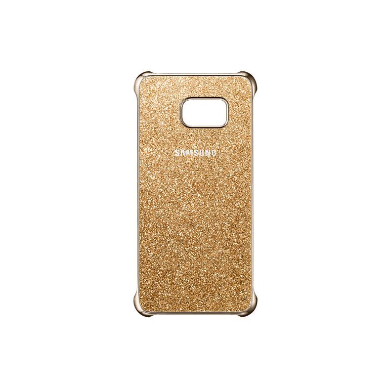 Samsung Ochranný kryt Glitter Cover S6 Edge+ Gold