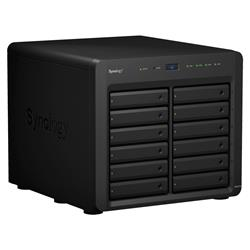 Synology DiskStation DS3617xsII 12-bay NAS, CPU QC Xeon D-1527 64bit, RAM 16GB, 2x USB 3.0, 2x exp.port, 4x GLAN