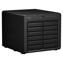 Synology DiskStation DS2419+II 12-bay NAS, CPU QC Atom C3538 64bit, RAM 4GB, 2x USB 3.0, 1x exp.port, 4x GLAN