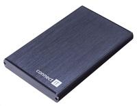 """CONNECT IT Externí box SPEED pro 2,5"""" LINE disk, USB 3.0, s vypínačem"""
