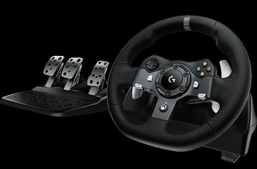 Logitech G920 volant s pedály, Xbox One, USB