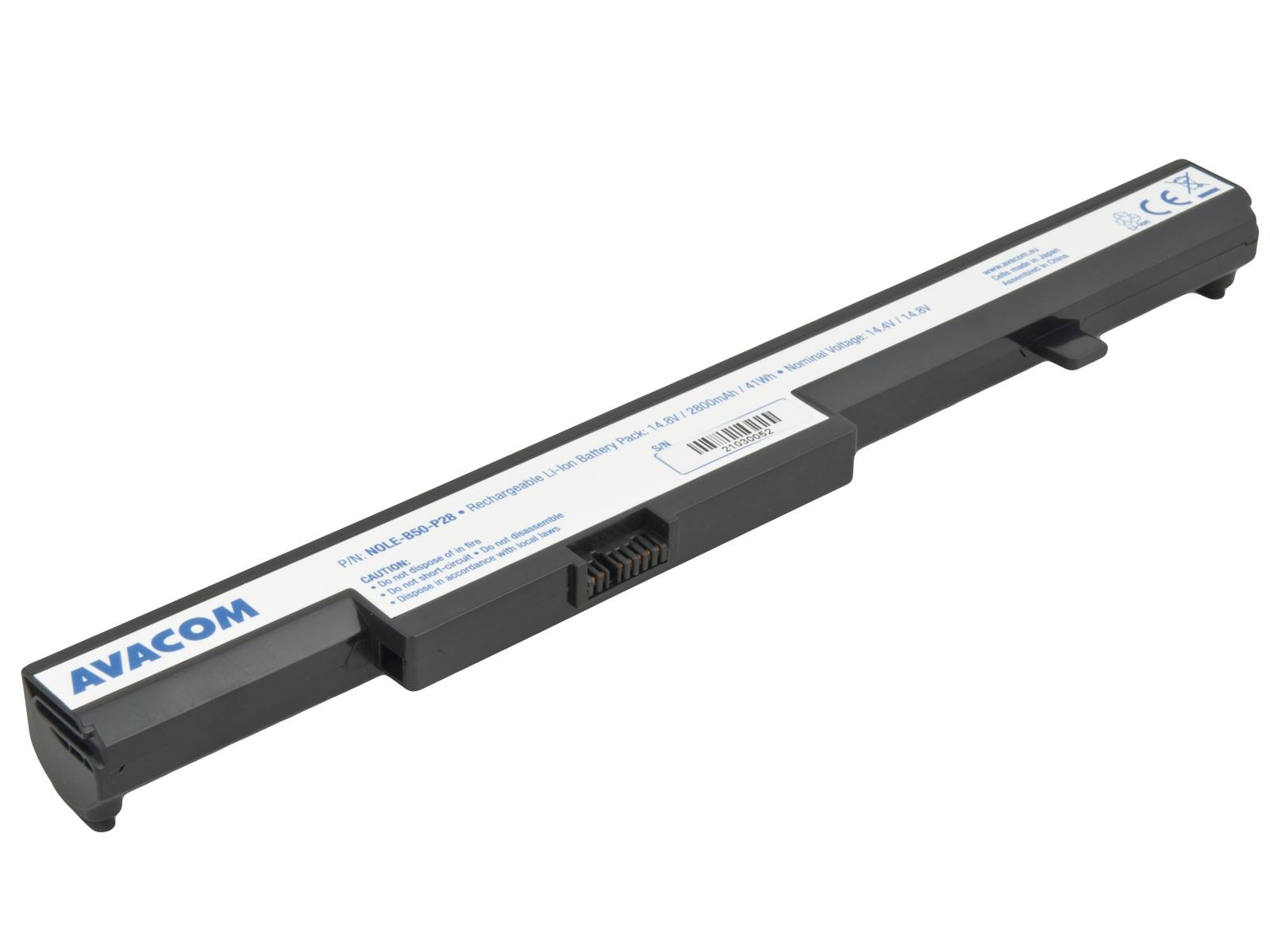 Náhradní baterie AVACOM Lenovo IdeaPad B50 Li-Ion 14,4V 2800mAh