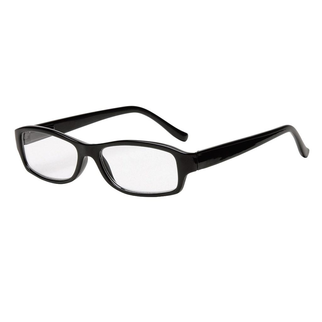 Filtral čtecí brýle, plastové, černé, +1.0 dpt