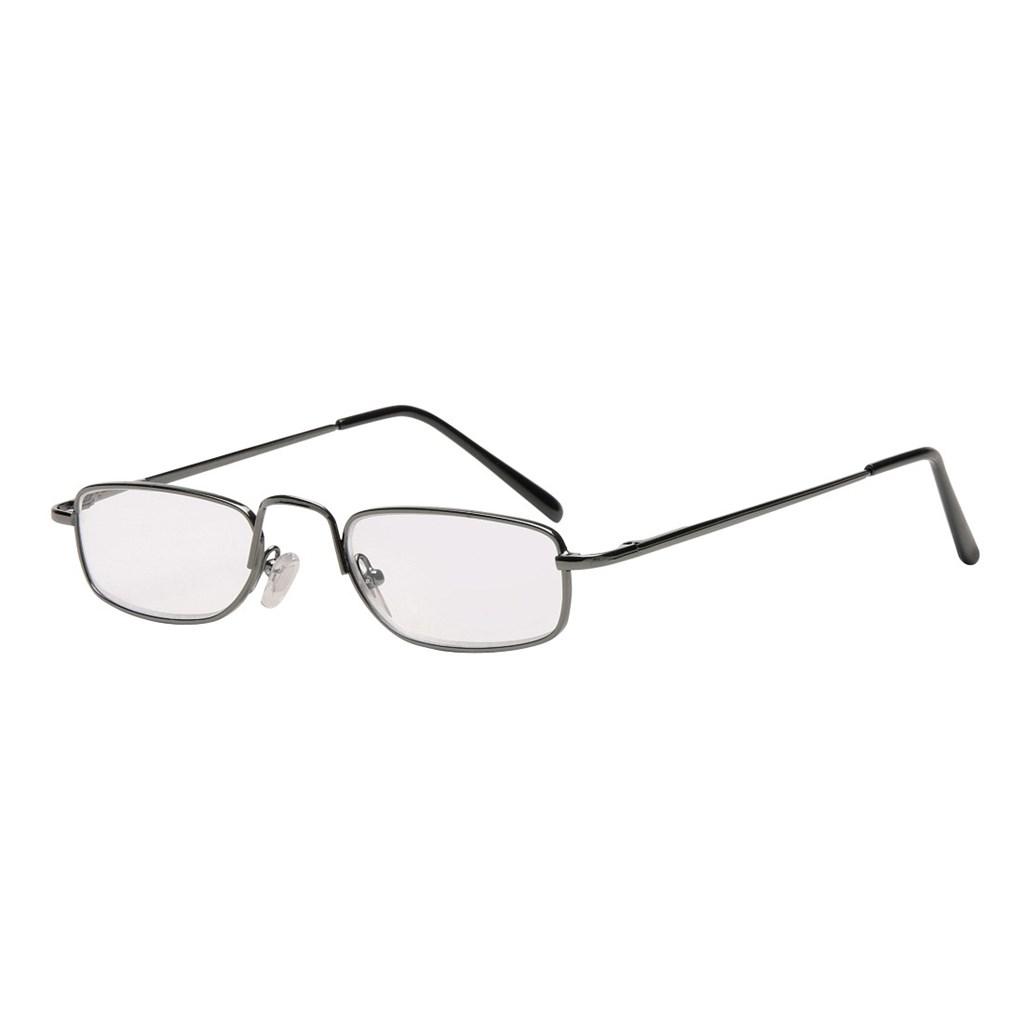 Filtral čtecí brýle, kovové, gun, +1.0 dpt