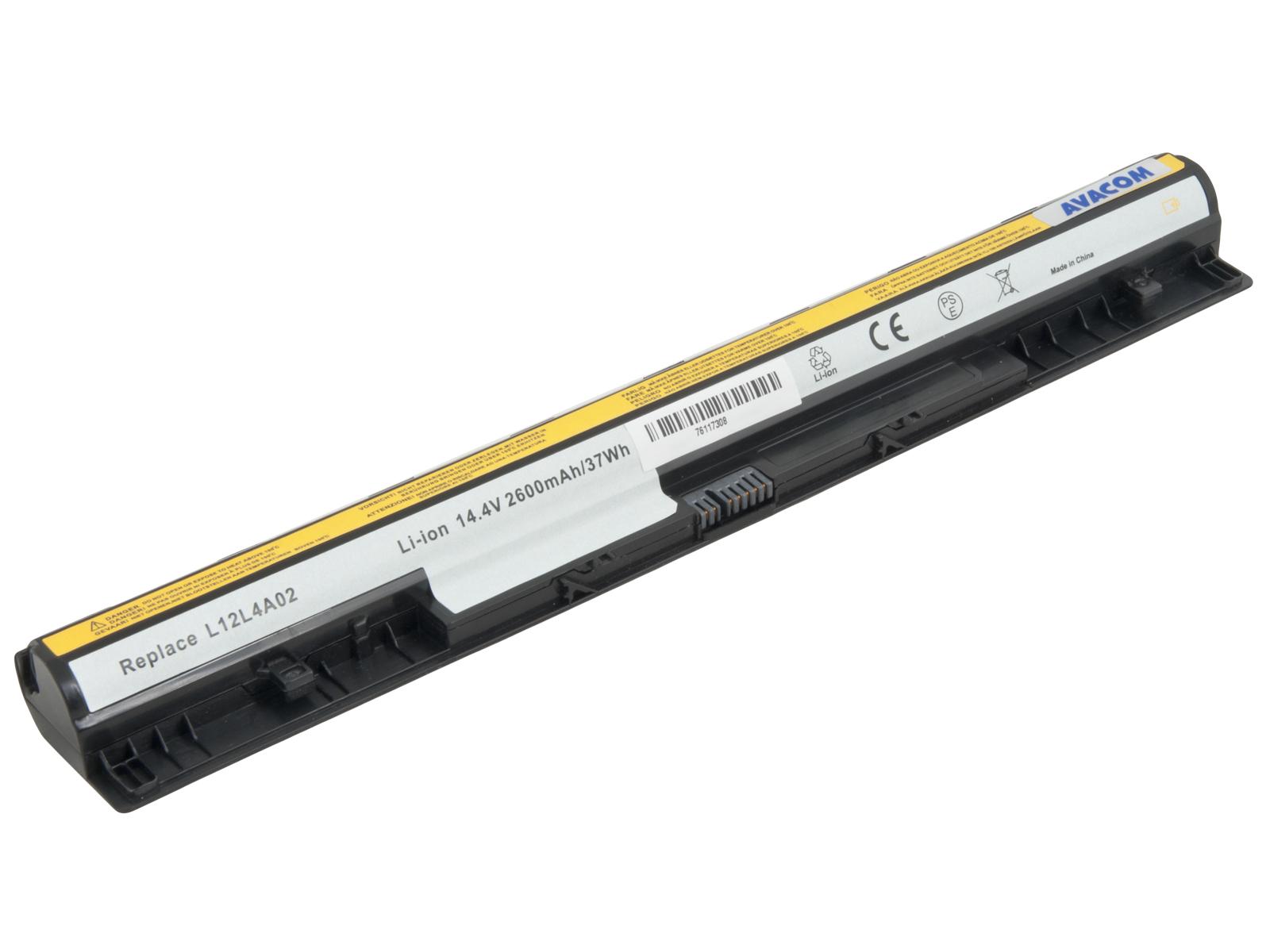 Náhradní baterie AVACOM Lenovo IdeaPad G400S Li-Ion 14,8V 2600mAh