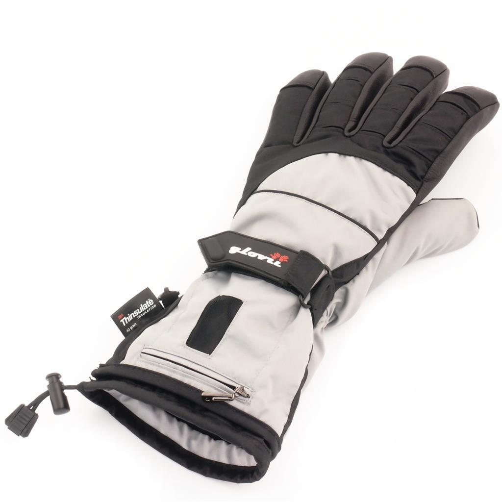 PowerNeed Sunen Glovii, Vyhřívané lyžařské rukavice velikost S