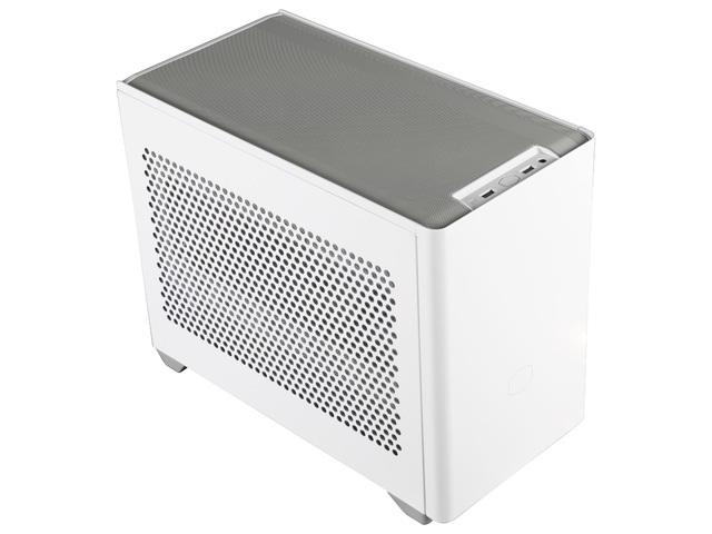 COOLER MASTER PC skříň MASTERBOX NR200 MINI TOWER, bílá