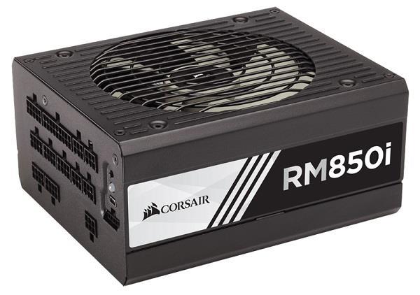 Corsair zdroj RM series RM850i 850W, 80 PLUS Gold, modulární, 135mm větrák