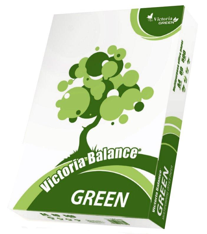 VICTORIA papír Balance Green, recyklovaný, A4, 80g, 500 listů