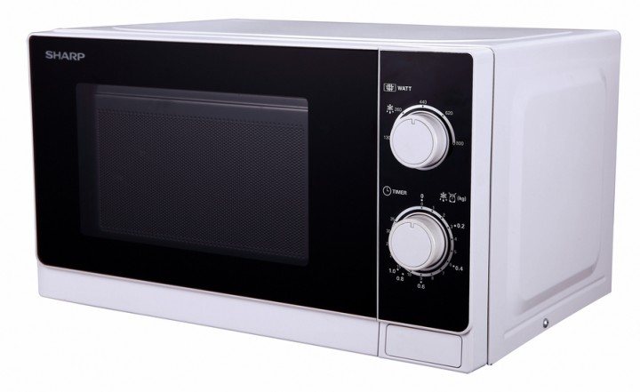 Mikrovlnná trouba Sharp R-200WW, bílá