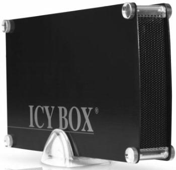 Icy Box External 3,5'' HDD Case SATA to 1x USB 3.0, eSATA, Black