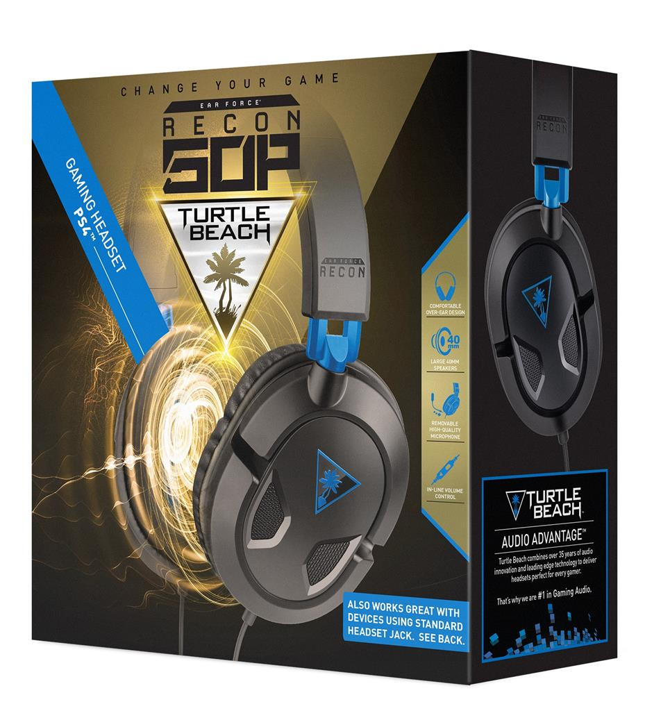 Turtle Beach EAR FORCE RECON 50P sluchátka s mikrofonem