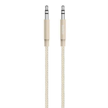 BELKIN MIXIT UP Metallic AUX Cable, Zlatý