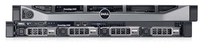 DELL PE R320 E5-2403/8GB/3x300GB 10k/RAID5/H710/2xPSU/1U/iDrac ent