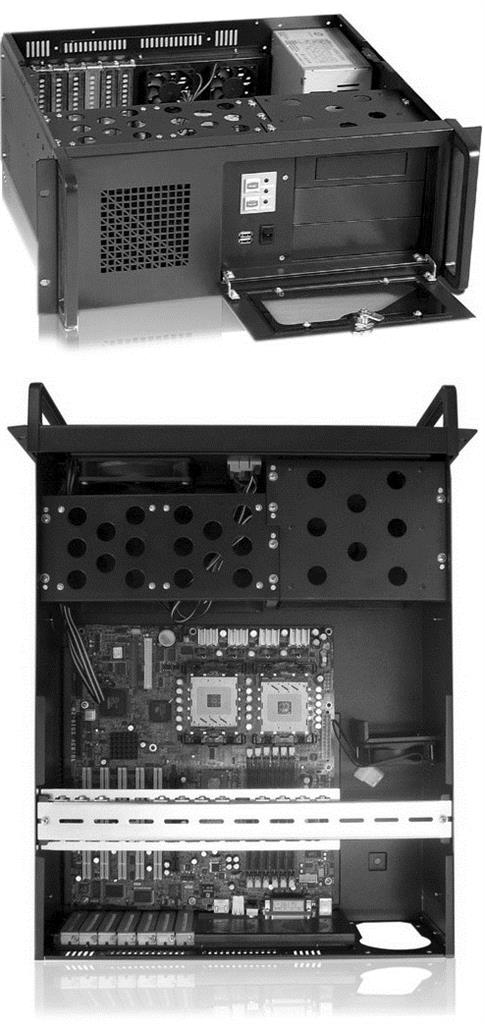 Netrack server case microATX/ATX/eATX, 482*177*530mm, rack 19''
