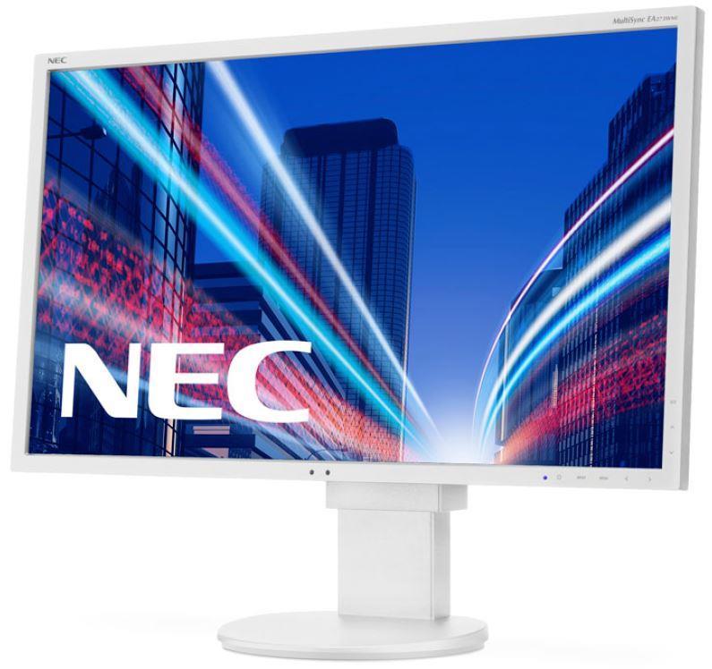 NEC LCD MultiSync EA273WMi 27'' wide FHD, IPS TFT, DVI/HDMI/USB/DP,white