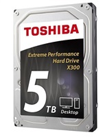 "TOSHIBA HDD X300 5TB, SATA III, 7200 rpm, 128MB cache, 3,5"""