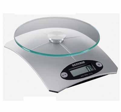 Váha kuchyňská Severin KW3667 stříbrná