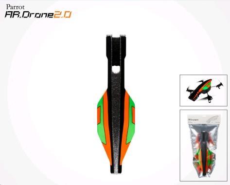 Parrot AR.Drone 2 vyměnitelný venkovní kryt (zelený)