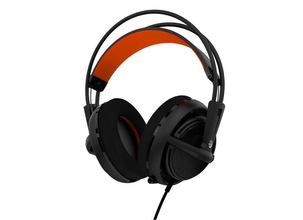 Sluchátka SteelSeries SIBERIA 200 (černé)