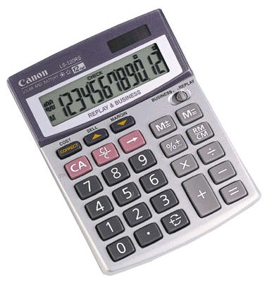 Kalkulačka Canon LS-120 RS