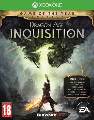Electronic Arts XBox One hra Dragon Age: Inquisition GOTY