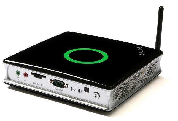 ZOTAC ZBOX MA760, FX-7600P, DDR3-1600, 2.5'' SATA3, WiFi, BT, EU+UK PLUG
