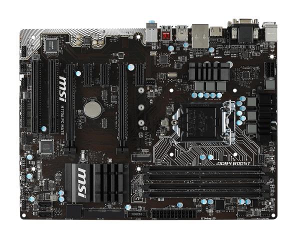 MSI MB Sc LGA1151 H170A PC MATE, Intel H170, 4xDDR4, GbLAN, ATX