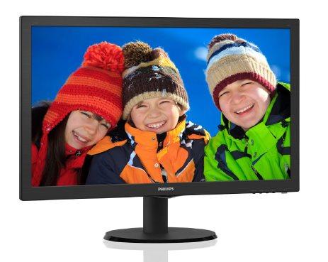 "Philips LCD 223V5LHSB2 21,5""wide/1920x1080/5ms/10mil:1/HDMI/LED"