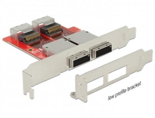 Delock adapté SATA 22 Pin > 1 x M.2 NGFF + 1 x mSATA