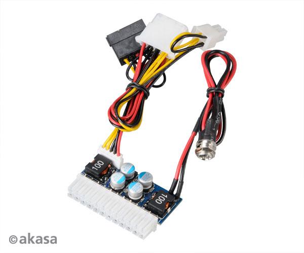 AKASA adaptér 80W DC pro DC ATX power