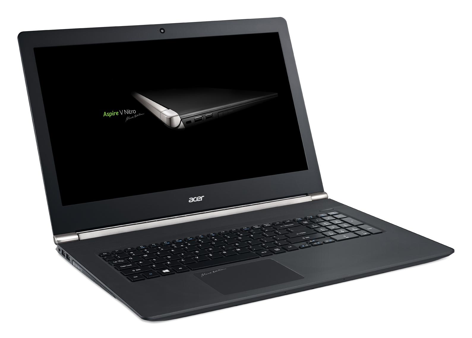 "Acer Aspire V 17 Nitro Black Edition (VN7-792G-722C) i7-6700HQ/8GB/128GB SSD+1TB/DVDRW/GTX 960M/17.3""FHD IPS mat/BT/W10 Home/Black"