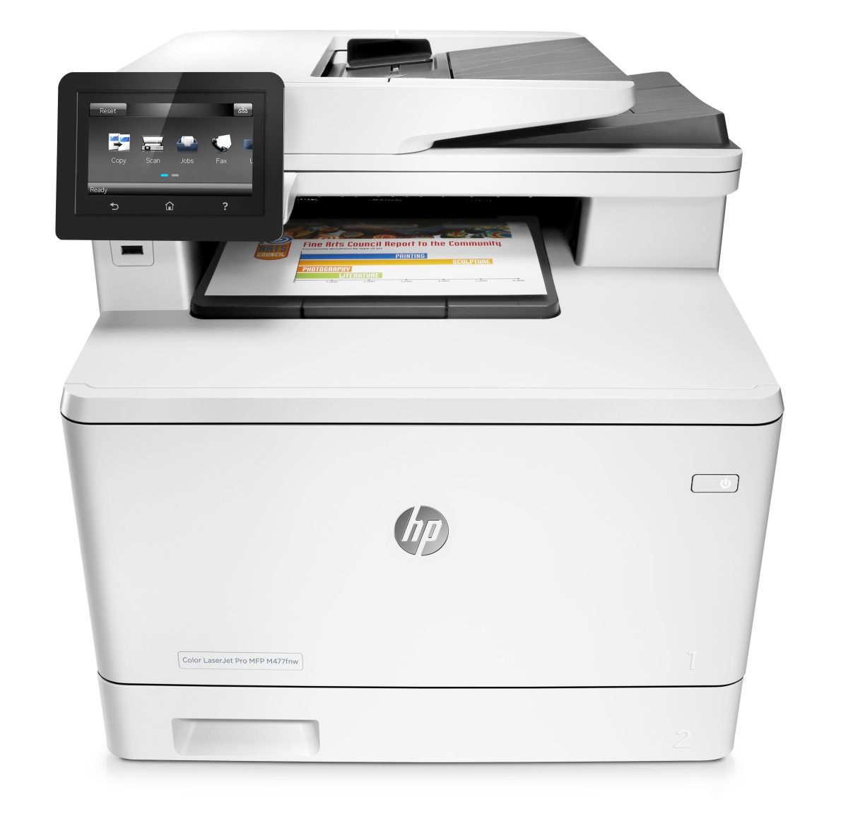 HP CLJ Pro MFP Color M477fnw (A4, 27/27 ppm, USB 2.0, Ethernet, Wi-Fi, Print/Scan/Copy/Fax)