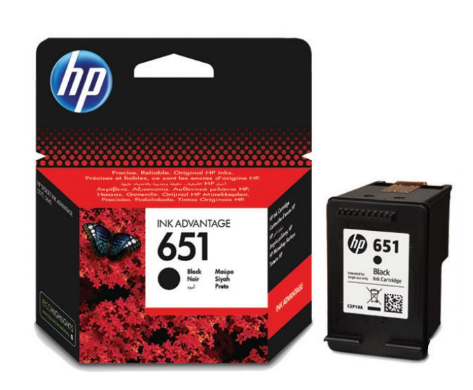 HP 651 black C2P10A - originální