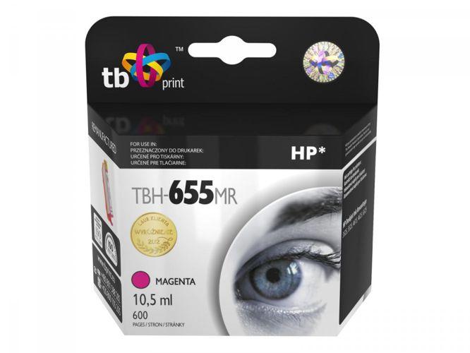 Ink. kazeta TB kompatibilní s HP 655, Magenta ref.