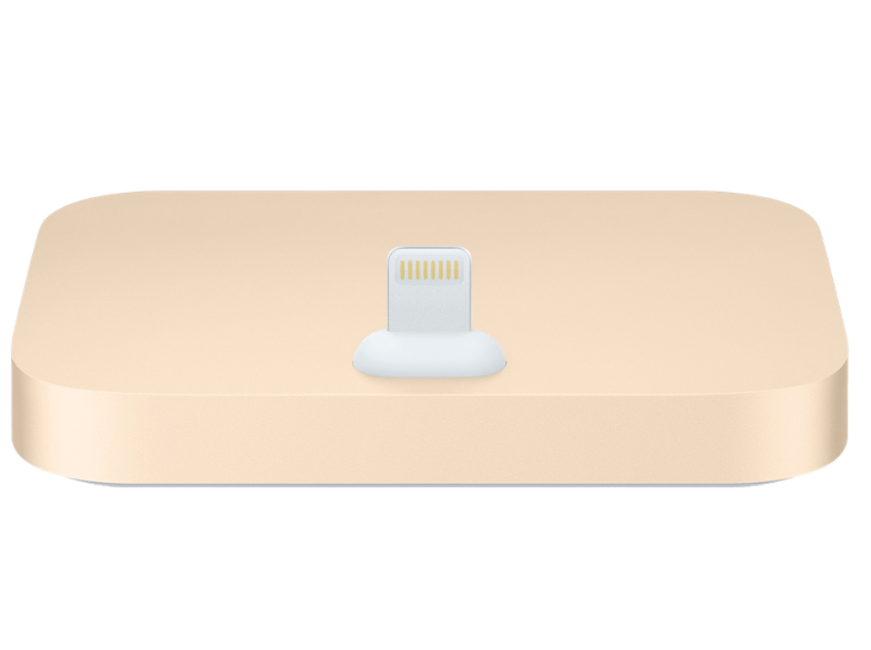 iPhone Lightning Dock Gold