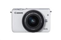 Canon EOS M10 + EF-M 15-45 STM - bílé