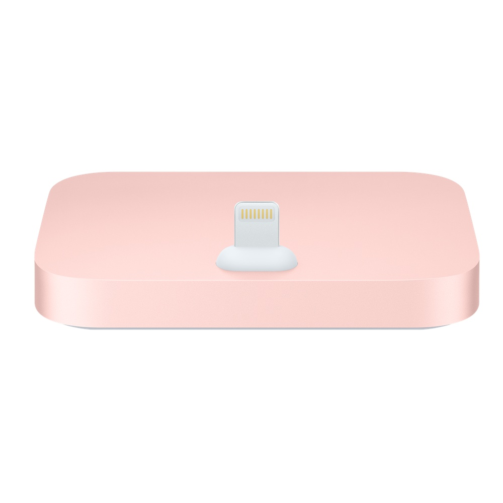 iPhone Lightning Dock Rose Gold