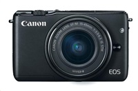 Canon EOS M10 černý M15-45