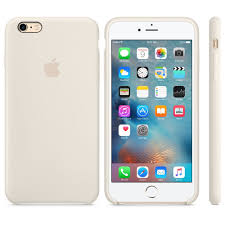iPhone 6S Plus Silicone Case Antique White