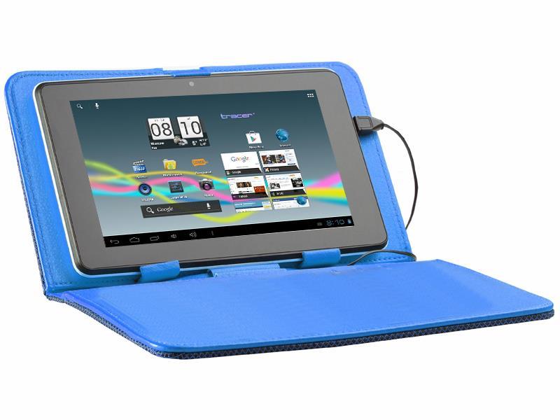 Tracer Street pouzdro pro tablet 9.7'', polyester, modré