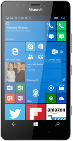 Microsoft Lumia 950 Dual SIM LTE White