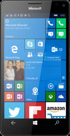 Microsoft Lumia 950 XL Dual SIM LTE Black