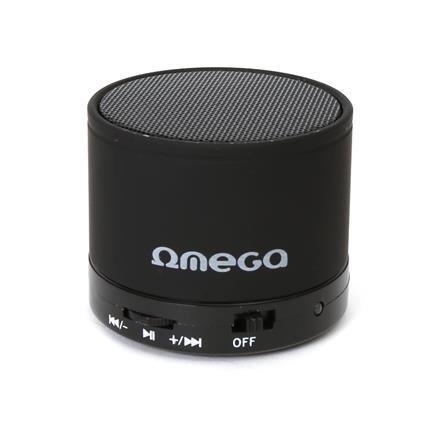 Bluetooth reproduktor 3W, FM, micro SD, černý