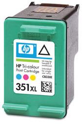 Tisková náplň HP 351XL 3barevná | 14ml