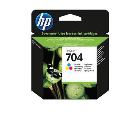 Inkoust HP 704 tri-colour